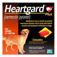 Heartgard Plus (51-100 lbs) – 12 month supply