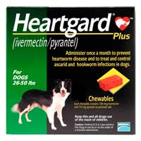 Heartgard Plus (26-50 lbs) – 12 month supply
